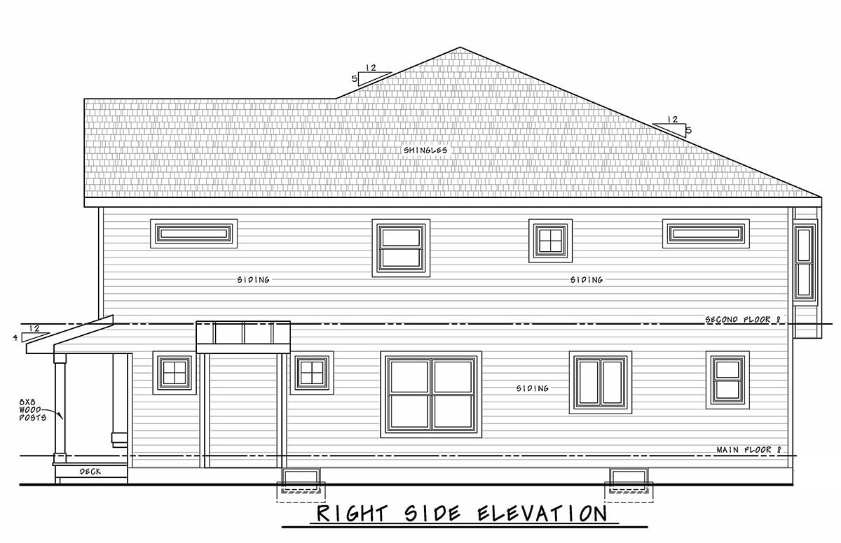 Narrow Lot, Southern, Traditional Multi-Family Plan 75713 with 4 Beds, 6 Baths Picture 1