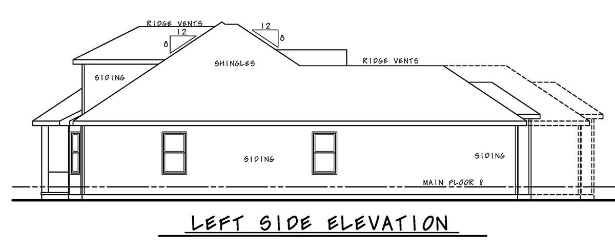 Mediterranean House Plan 75721 with 4 Beds, 5 Baths, 2 Car Garage Picture 2