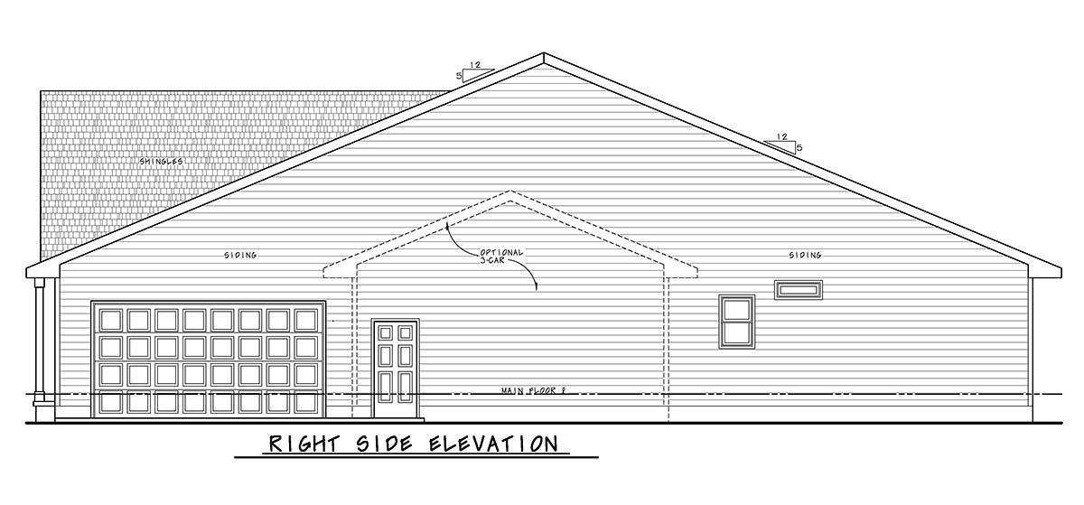 Traditional House Plan 75729 with 2 Beds, 3 Baths, 2 Car Garage Picture 1