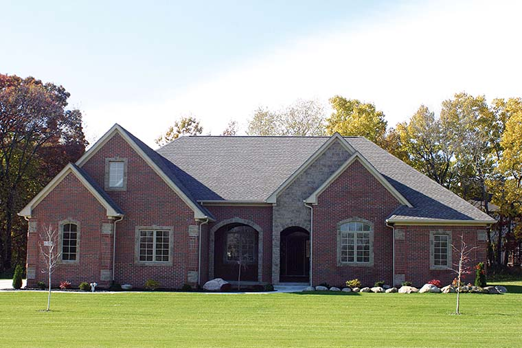 Craftsman, French Country House Plan 75737 with 4 Beds, 4 Baths, 3 Car Garage Picture 5