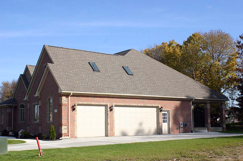 Craftsman, French Country House Plan 75737 with 4 Beds, 4 Baths, 3 Car Garage Picture 6