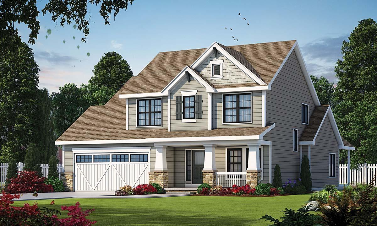 House Plan 75743