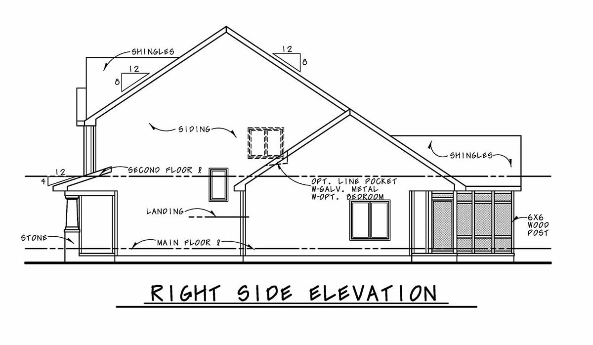 Bungalow, Cottage, Country, Craftsman House Plan 75743 with 3 Beds, 3 Baths, 2 Car Garage Picture 1