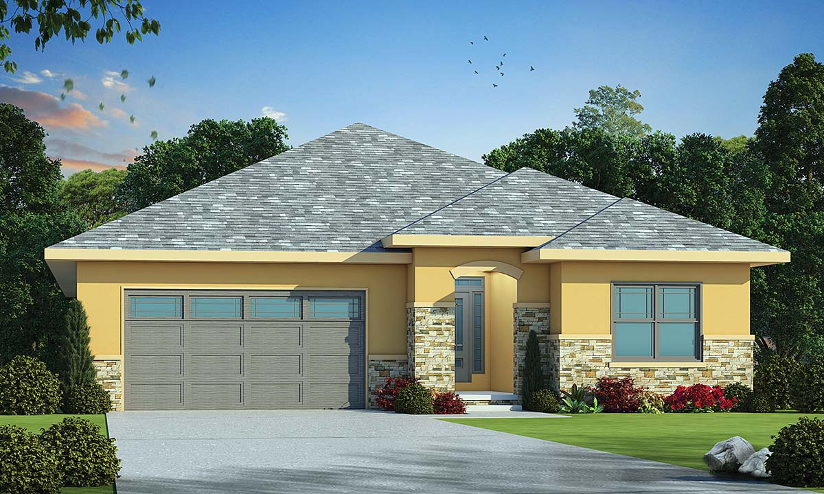House Plan 75745