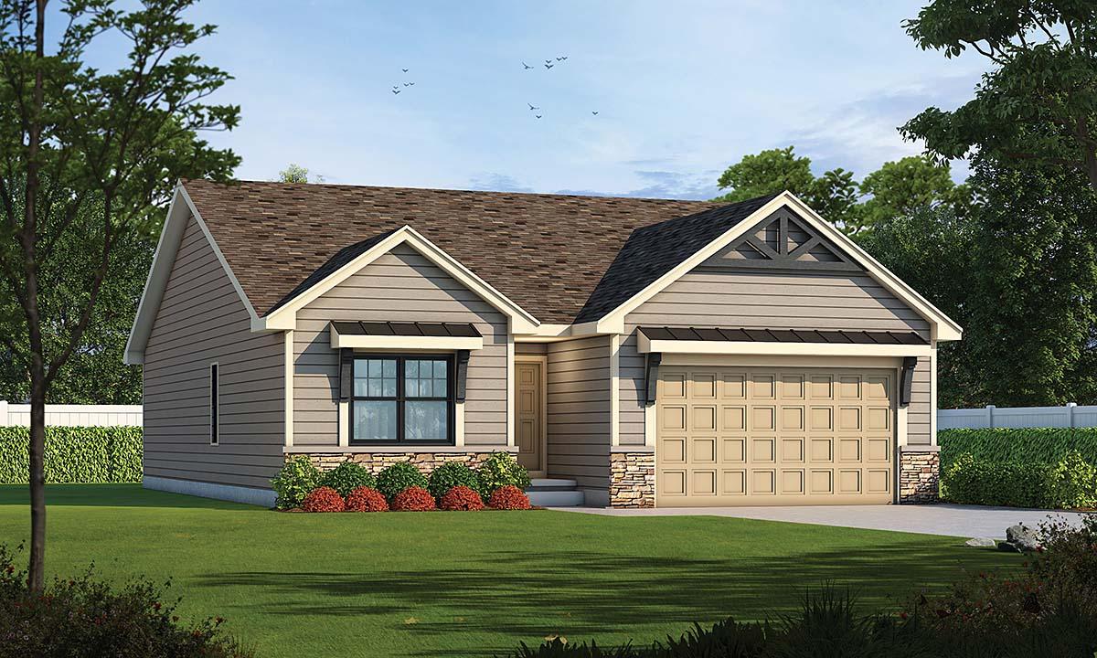 House Plan 75751