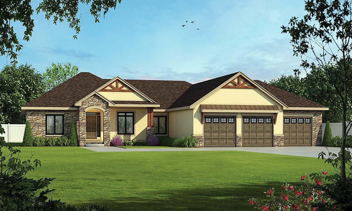 House Plan 75753