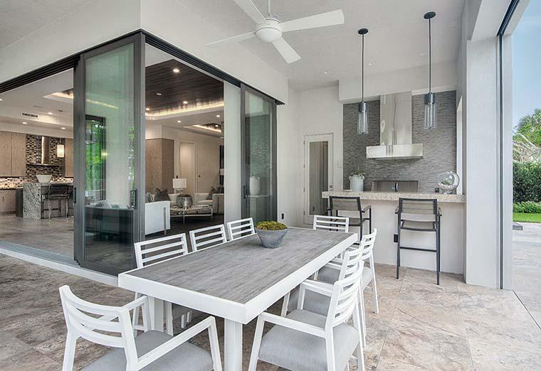 Coastal, Florida, Mediterranean, Modern, Prairie House Plan 75973 with 4 Beds, 6 Baths, 3 Car Garage Picture 5