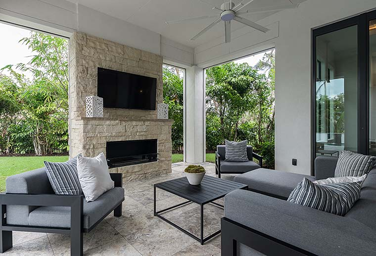Coastal, Florida, Mediterranean, Modern, Prairie House Plan 75973 with 4 Beds, 6 Baths, 3 Car Garage Picture 7