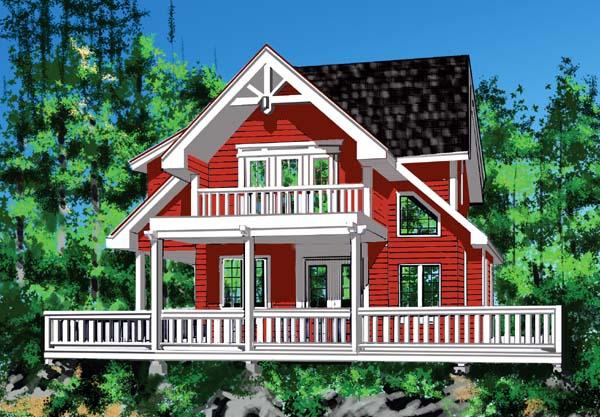 House Plan 76010