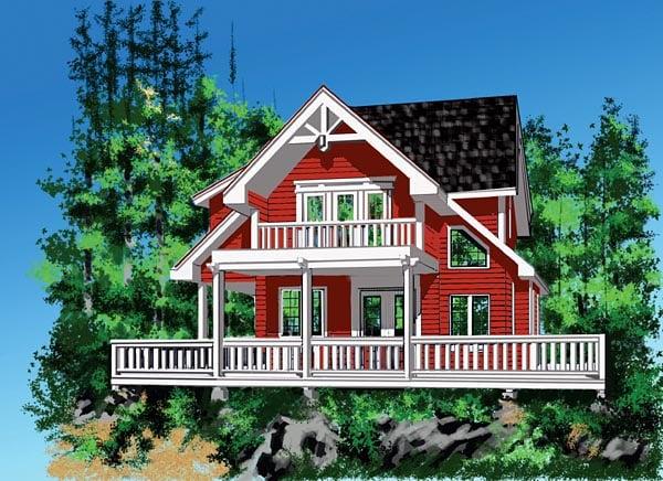 House Plan 76011