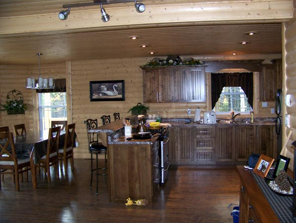 Cabin, Narrow Lot House Plan 76011 with 2 Beds, 2 Baths Picture 5