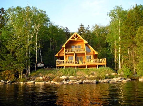 Cabin, Contemporary Plan with 1370 Sq. Ft., 3 Bedrooms, 2 Bathrooms Picture 5