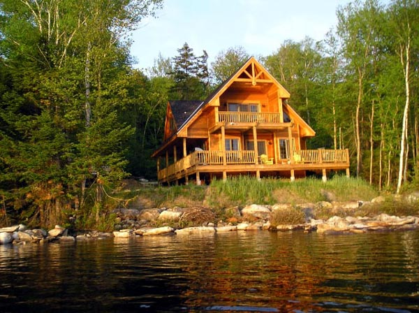 Cabin, Contemporary Plan with 1370 Sq. Ft., 3 Bedrooms, 2 Bathrooms Picture 6