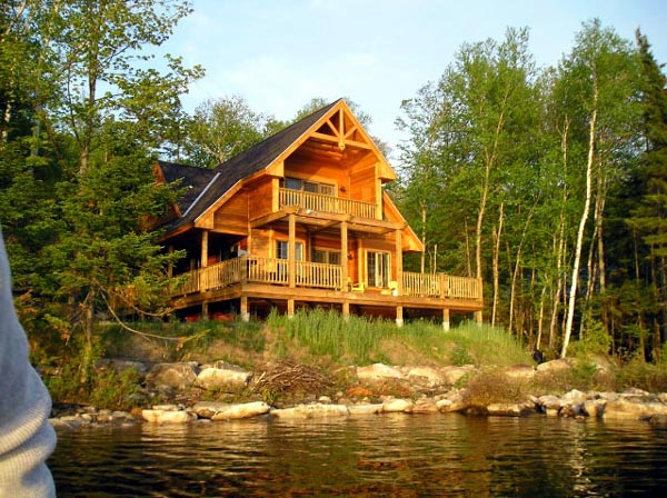 Cabin, Contemporary House Plan 76012 with 3 Beds, 2 Baths Picture 7
