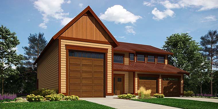 Garage Plan 76061