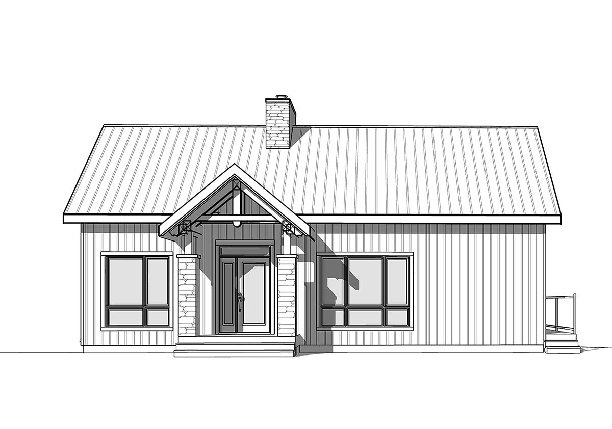 Coastal, Cottage, Farmhouse House Plan 76566 with 3 Beds, 3 Baths Picture 1