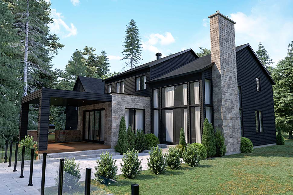 Craftsman, Farmhouse House Plan 76573 with 4 Beds, 3 Baths, 2 Car Garage Picture 10