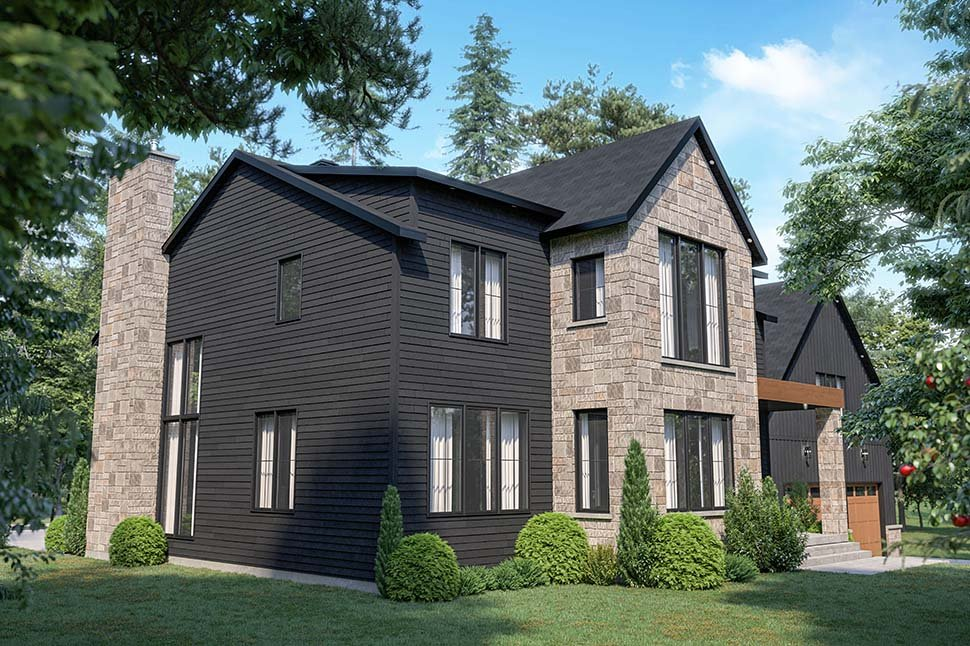 Craftsman, Farmhouse House Plan 76573 with 4 Beds, 3 Baths, 2 Car Garage Picture 12