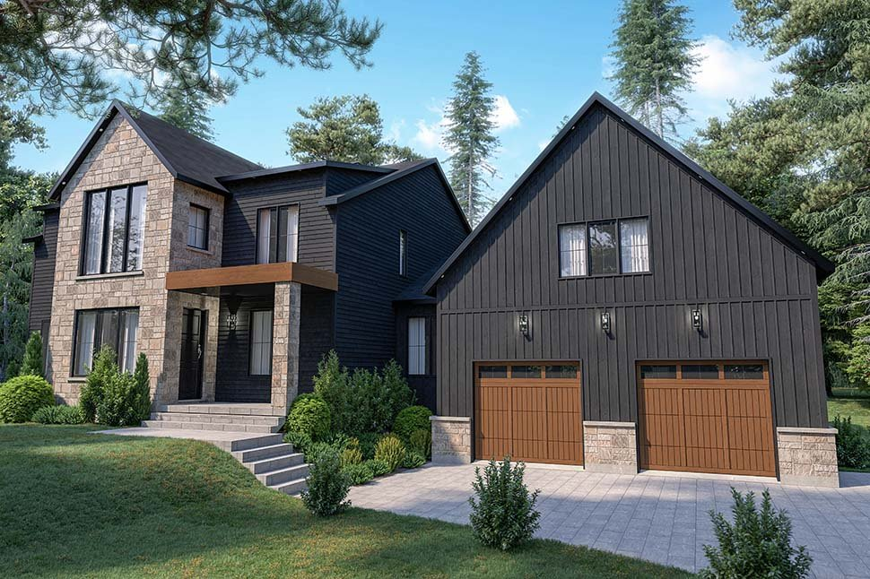 Craftsman, Farmhouse House Plan 76573 with 4 Beds, 3 Baths, 2 Car Garage Picture 13