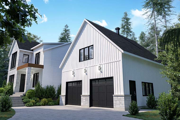 Craftsman, Farmhouse House Plan 76573 with 4 Beds, 3 Baths, 2 Car Garage Picture 5