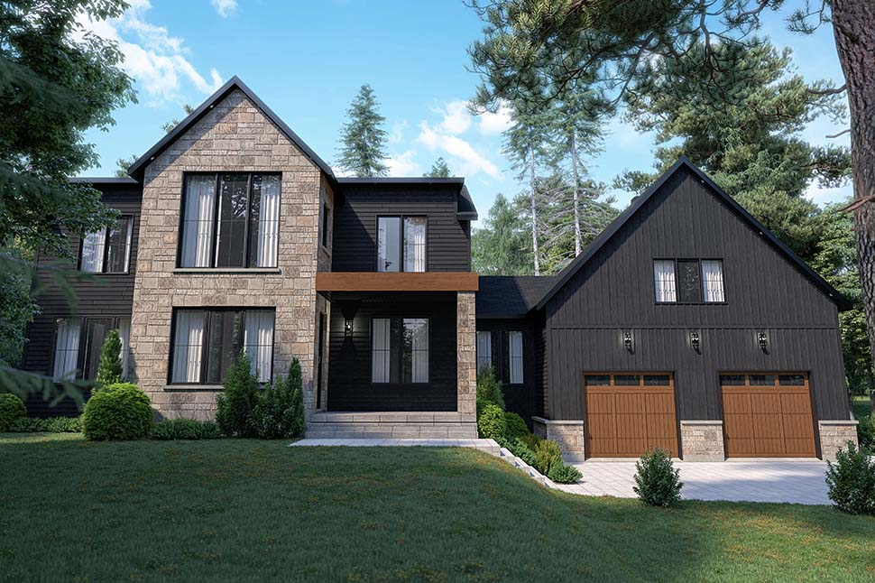 Craftsman, Farmhouse House Plan 76573 with 4 Beds, 3 Baths, 2 Car Garage Picture 9