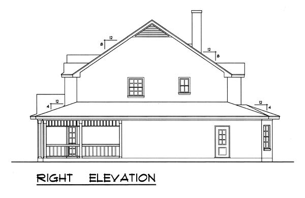 Country, Ranch, Southern House Plan 77751 with 5 Beds, 4 Baths Picture 2