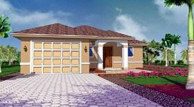 Plan Number 78108 - 1271 Square Feet