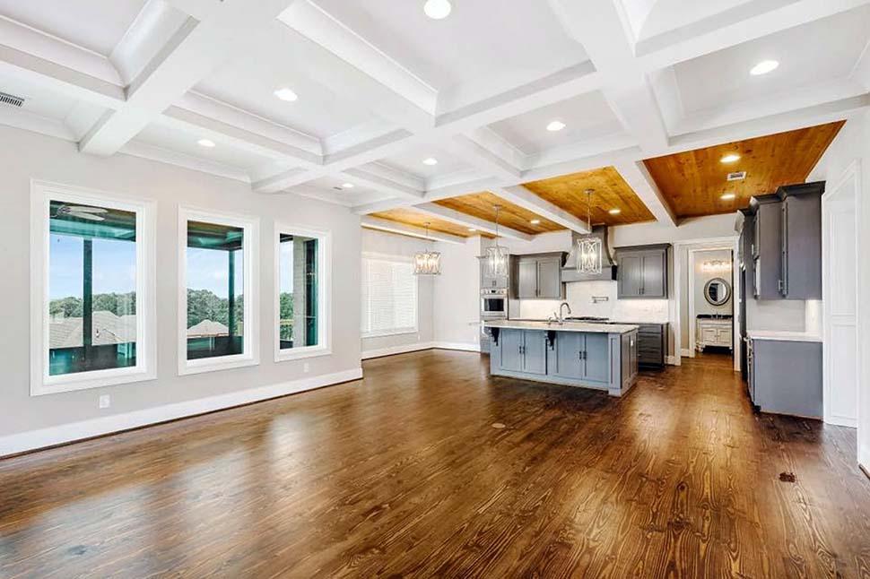 European, Florida, Mediterranean House Plan 78506 with 5 Beds, 5 Baths, 4 Car Garage Picture 16
