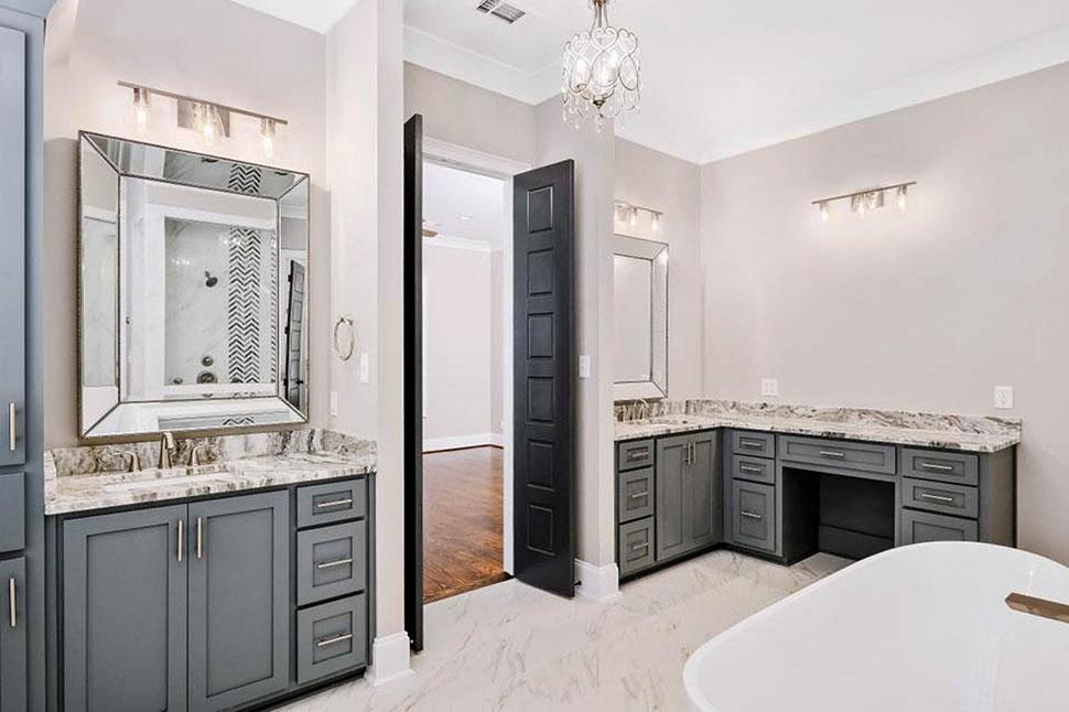 European, Florida, Mediterranean House Plan 78506 with 5 Beds, 5 Baths, 4 Car Garage Picture 28
