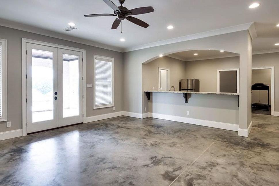 European, Florida, Mediterranean House Plan 78506 with 5 Beds, 5 Baths, 4 Car Garage Picture 40