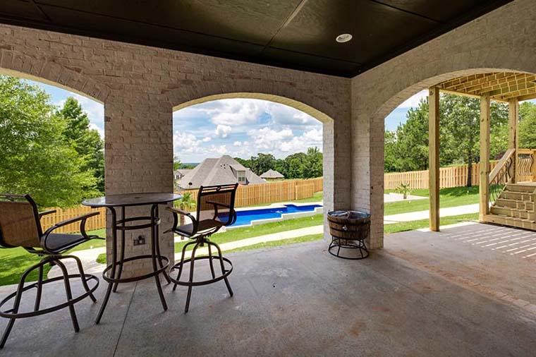 European, Florida, Mediterranean House Plan 78506 with 5 Beds, 5 Baths, 4 Car Garage Picture 5