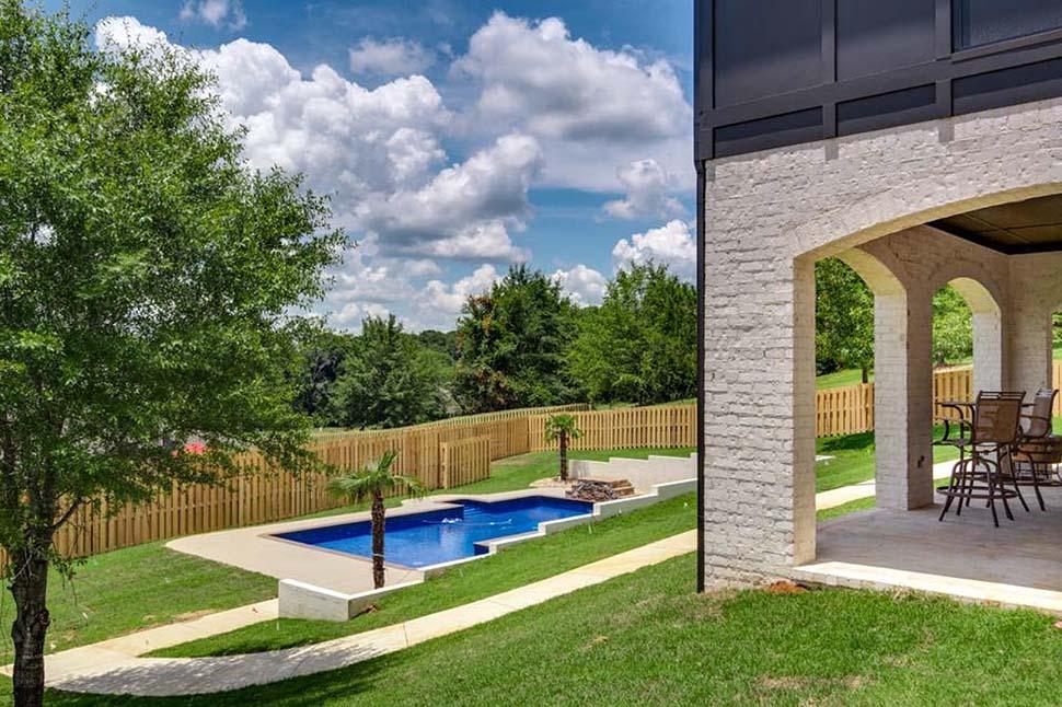 European, Florida, Mediterranean House Plan 78506 with 5 Beds, 5 Baths, 4 Car Garage Picture 6