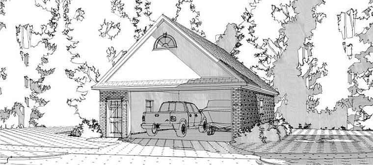 Garage Plan 78661