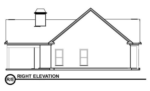 Bungalow House Plan 78776 with 2 Beds, 2 Baths Picture 2