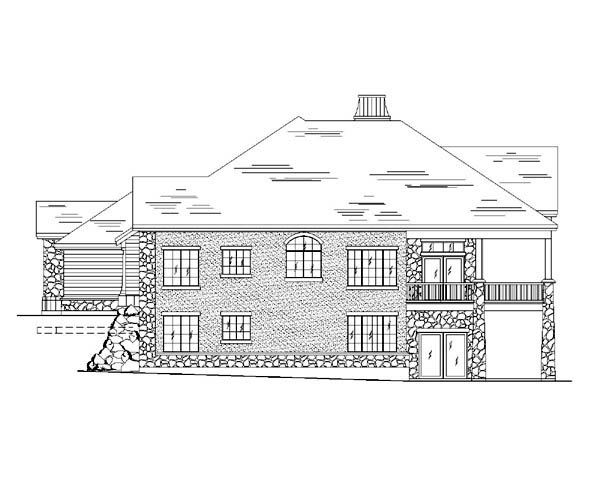 European House Plan 79818 with 6 Beds, 5 Baths, 3 Car Garage Picture 1