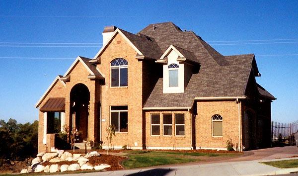 European House Plan 79894 with 6 Beds, 4 Baths, 3 Car Garage Elevation