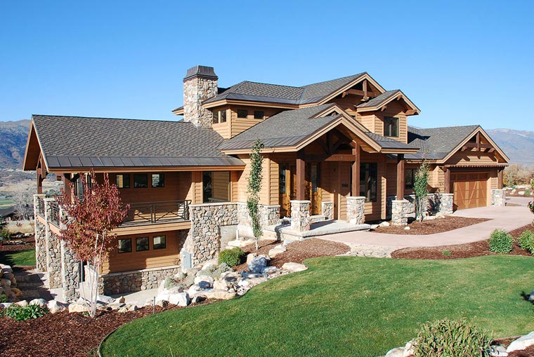 Traditional House Plan 79936 with 6 Beds, 6 Baths, 3 Car Garage Picture 9