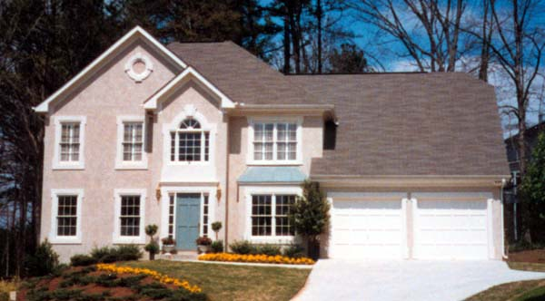 Traditional House Plan 80189 with 4 Beds, 3 Baths, 2 Car Garage Picture 1