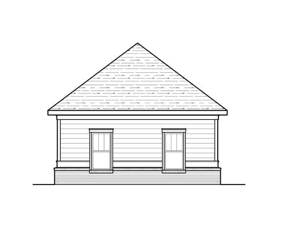 Cottage 2 Car Garage Plan 80253 Picture 2
