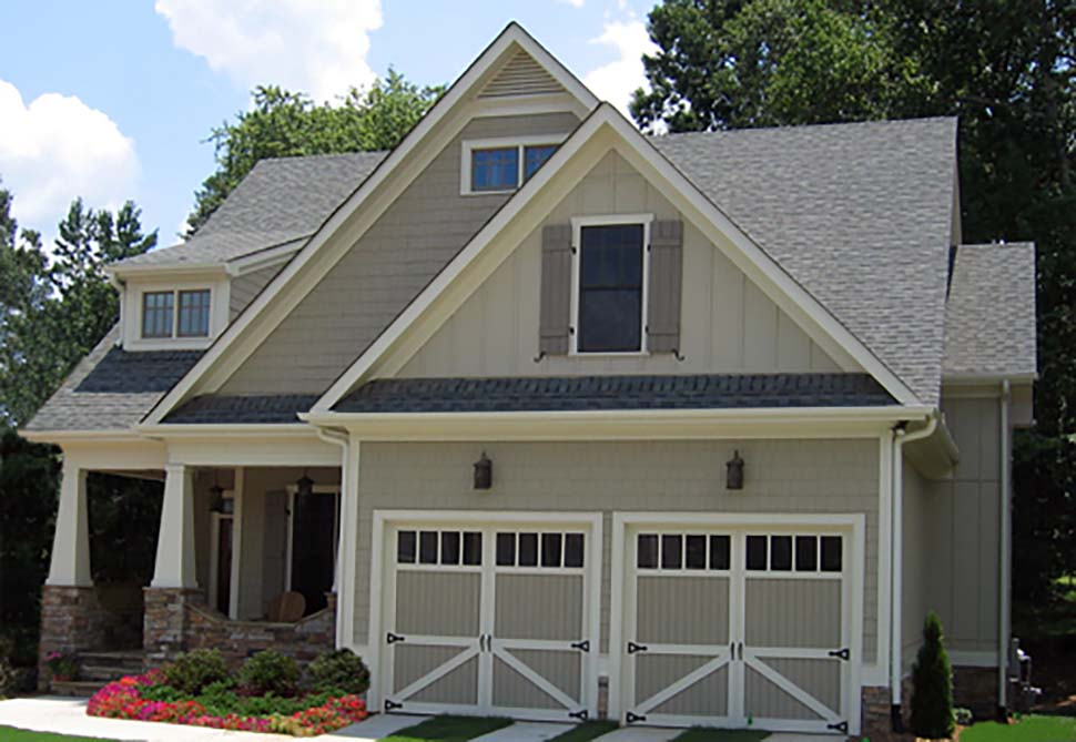Bungalow, Cottage, Craftsman, Narrow Lot House Plan 80260 with 4 Beds, 4 Baths, 2 Car Garage Picture 6