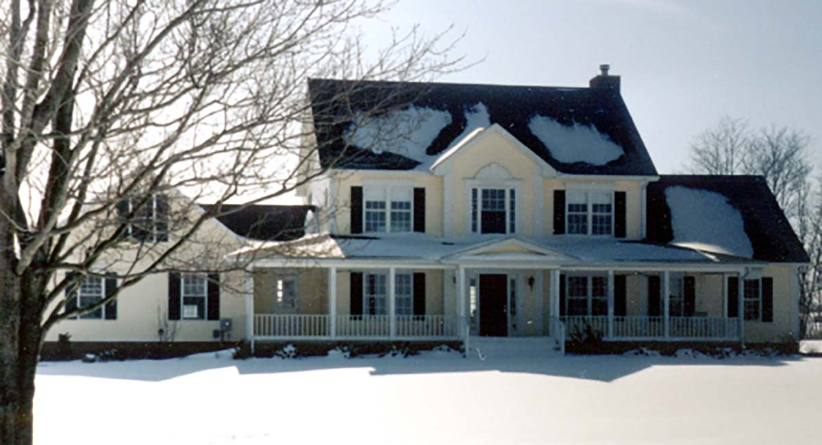 Country, Farmhouse, Southern, Traditional House Plan 80266 with 4 Beds, 4 Baths, 2 Car Garage Picture 1