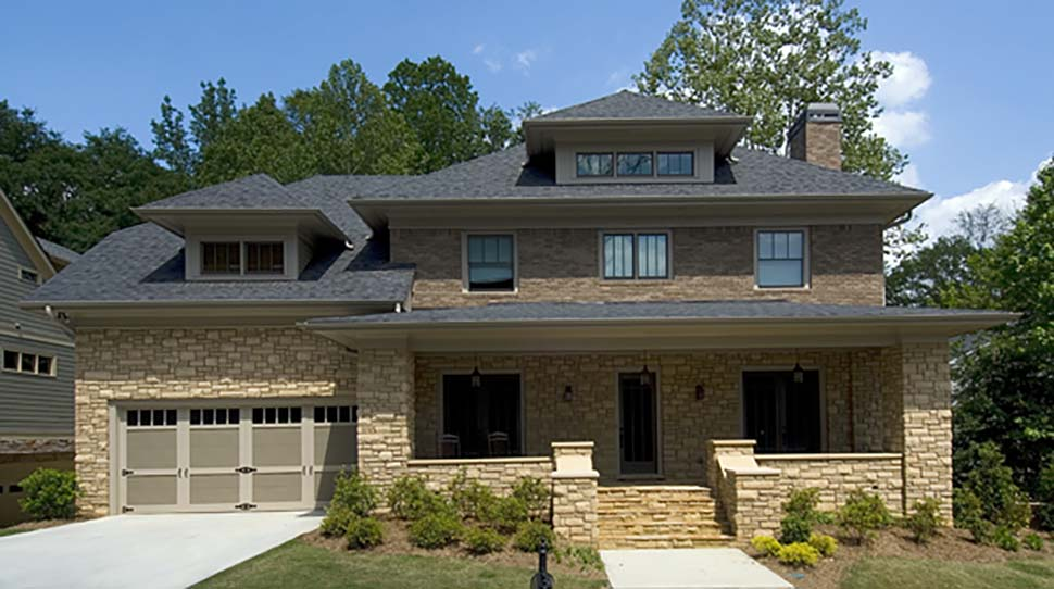 Craftsman, Traditional House Plan 80267 with 4 Beds, 4 Baths, 2 Car Garage Picture 4