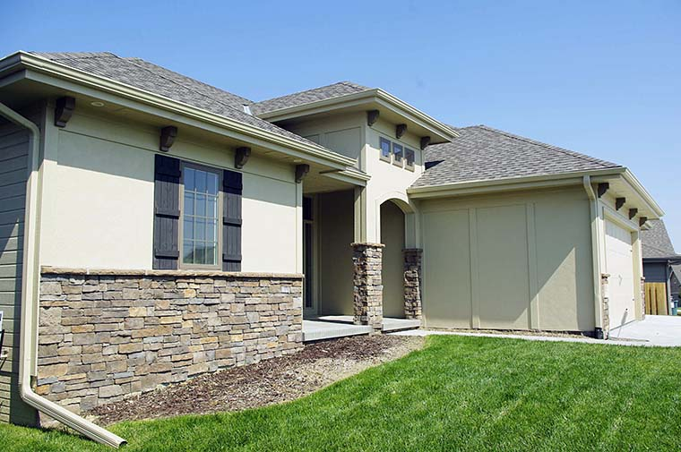 Tuscan House Plan 80401 with 3 Beds, 2 Baths, 3 Car Garage Picture 2