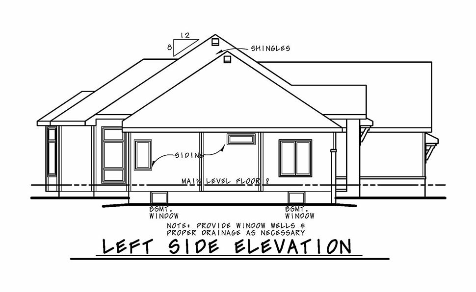 Contemporary, European House Plan 80424 with 3 Beds, 3 Baths, 2 Car Garage Picture 2