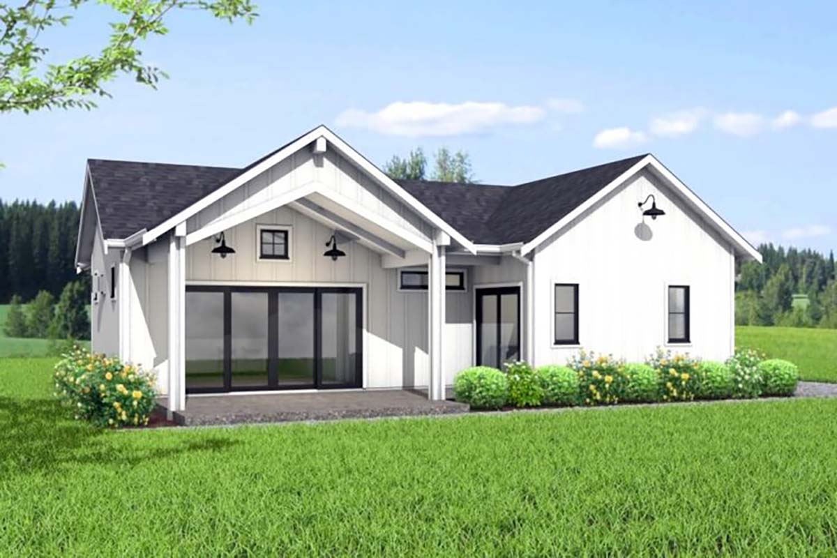 House Plan 80502