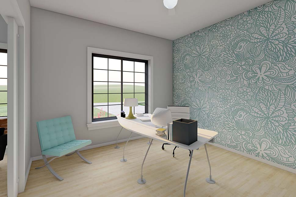 Bungalow, Cottage, Farmhouse, Ranch House Plan 80509 with 2 Beds, 2 Baths, 2 Car Garage Picture 2