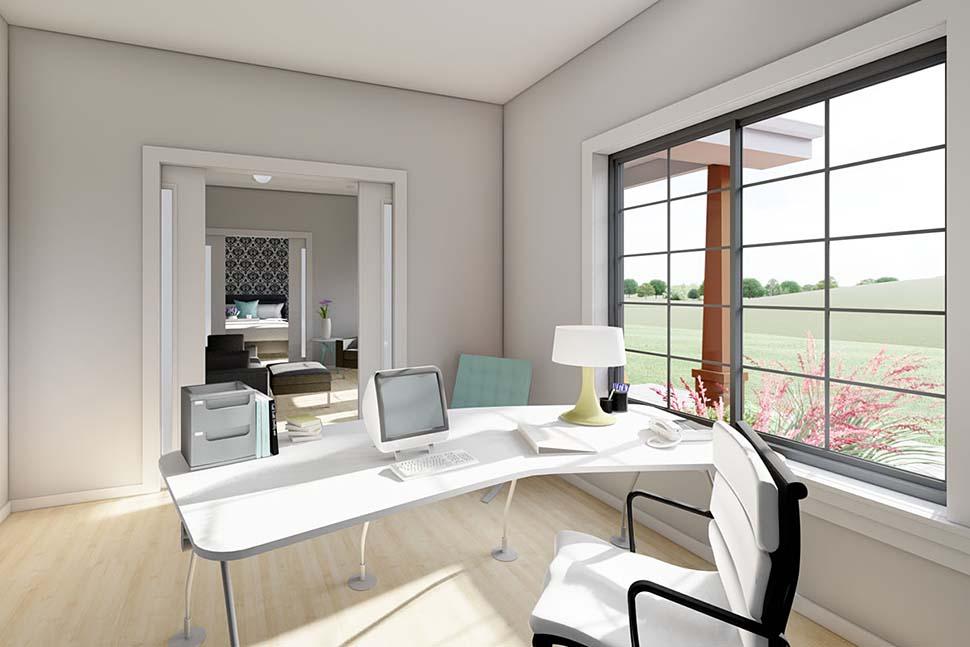 Bungalow, Cottage, Farmhouse, Ranch House Plan 80509 with 2 Beds, 2 Baths, 2 Car Garage Picture 9
