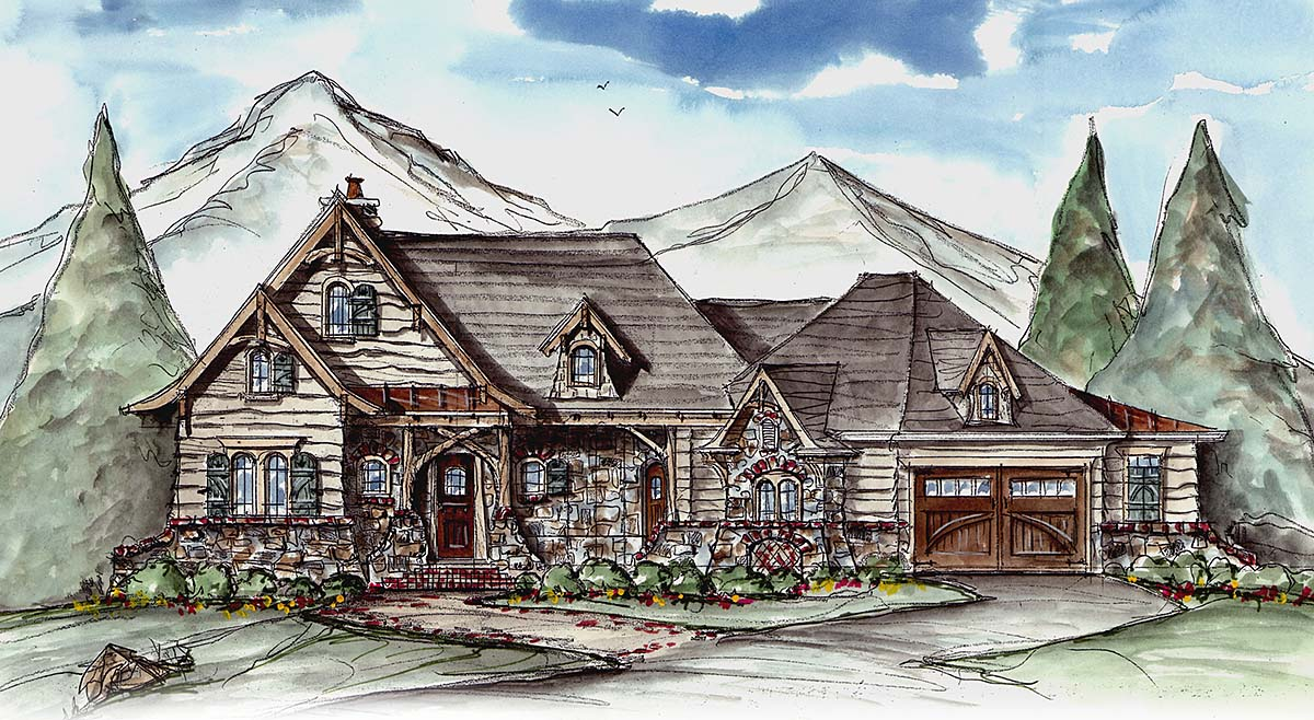 House Plan 80702