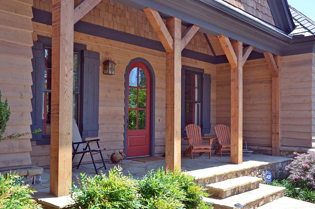 Cabin, Craftsman, Ranch House Plan 80708 with 3 Beds, 4 Baths, 2 Car Garage Picture 1