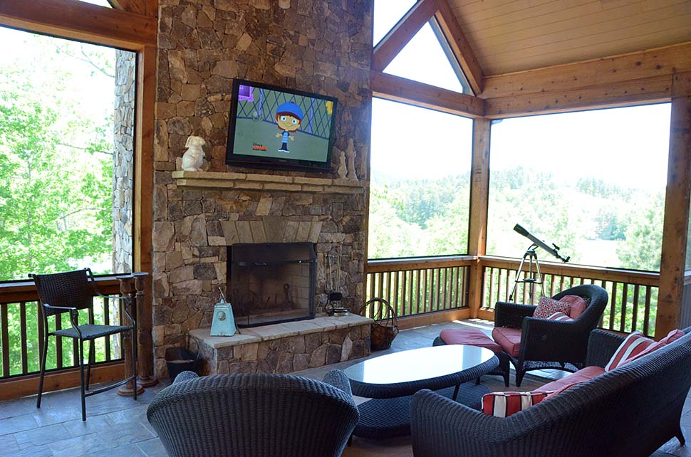Cabin, Craftsman, Ranch House Plan 80708 with 3 Beds, 4 Baths, 2 Car Garage Picture 4